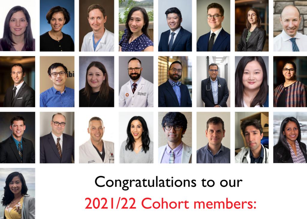 2021/22 Cohort members: